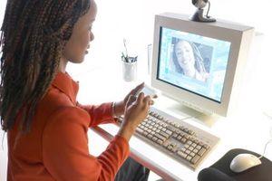 Verwendung eine Computer-Webcam
