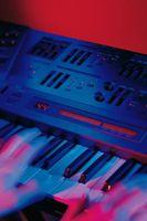 Die oberen fünf Synthesizer auf dem Computer