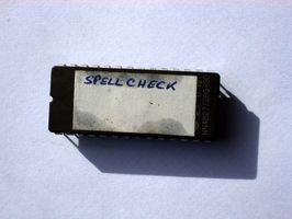 Spell Checker Wörterbuch für MSN Email installieren