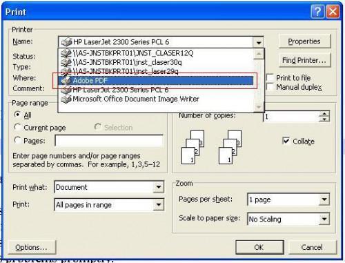 Gewusst wie: Erstellen einer Adobe PDF-Dokument