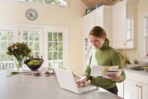 Wie eine aktuelle Rechnung Online bezahlen