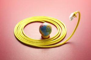 Wie auf Draht ein Cat5-Kabel-Anschluss