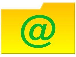 Erstellen Sie einen neuen BT-Ordner für E-Mails aus dem Internet