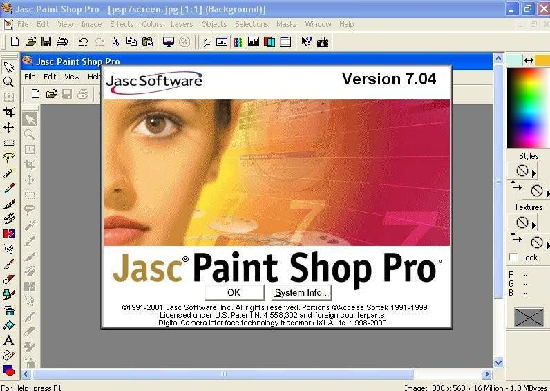 Paintshop Pro 7 Tutorials Amdtown Com