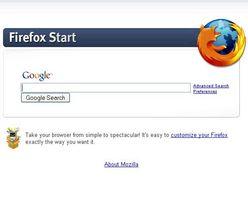 Startseite Von Mozilla Firefox