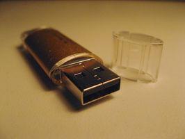 Wiederherstellen von USB-Flash-Laufwerke