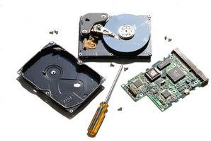 Wie Sie eine Festplatte aus einem Dell E1705