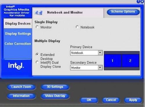 Wie Sie einen externen Monitor an ein Sony Vaio Laptop anschließen