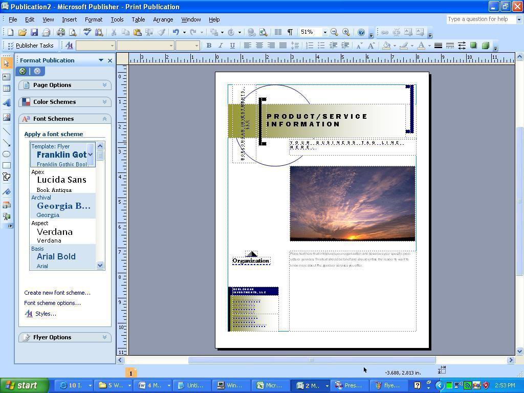 Einen Flyer Mit Microsoft Publisher Erstellen Amdtown Com