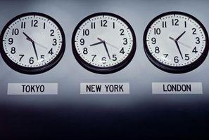 Eine Zeitzone Karte Arbeitsblatt veranschaulicht - Amdtown.com