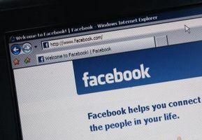 Facebook E-Mails zu löschen, bei der Anmeldung