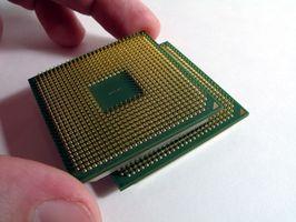 Entfernen Sie einen Prozessor von Dell 8300