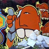 Graffiti Skizzen zeichnen