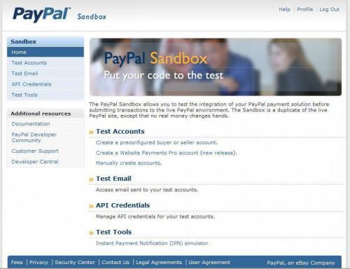 Gewusst wie: Verwenden Sie die PayPal-Sandbox