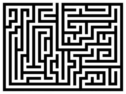 Wie man ein Labyrinth in Microsoft Word