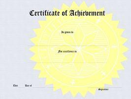 Wie Sie Word verwenden, um ein Projekt-Zertifikat erstellen ...