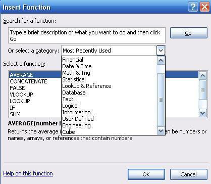 Tutorial für Excel