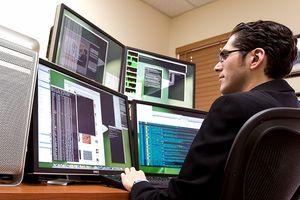Dell Flachbildschirm Monitor macht Probleme