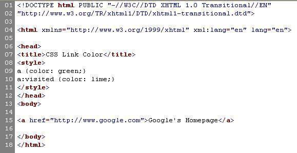 besuchte links farbe internet explorer